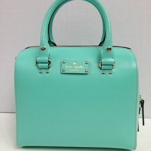 Kate Spade Wellesly Allesa Air Light Green Handbag